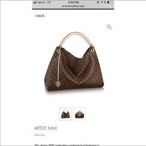 Artsy MM Louis Vuitton